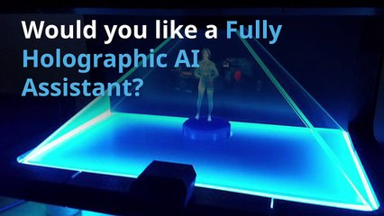 Fully Holographic AI Assistant