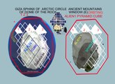 M4 ANT ARTIC CIRCLE ICE COVERED PYRAMIDS OF GIZA SPHINX TEMPLEMOUNT ALIENS- 1