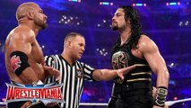Roman Reigns vs Triple H - Singles match for the WWE World Heavyweight Championship - WrestleMania 32 - Triple H vs Roman Reigns - Dailymotion Full Match - WWE