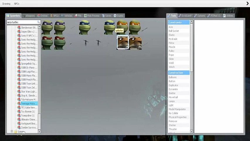 Gmod mods / maps / addons garrys mod - video dailymotion