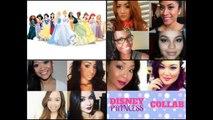 Disney en train de dormir beauté maquillage tutoriel Princesse Aurore maquillage tutoriel