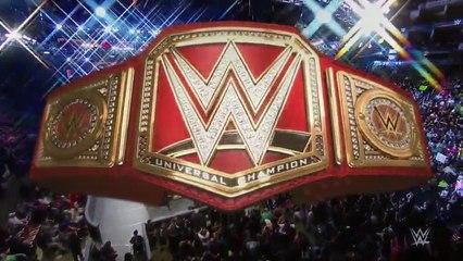 WWE Universal Championship Match Roman Reigns vs Kevin Owens vs Big Cass vs Seth Rollins