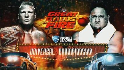 Brock Lesnar Vs Samoa Joe promo GBOF