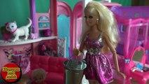 Dans le pour jouets dessins animés sur russe Barbie Tommy joue à cache-cache vie maison de rêve Barbie Dete