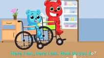 Méga gommeux ours captures froide visites docteur doigt la famille Rime gommeux ours de la glace crème amusement