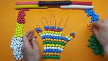 Un et un à un un à Bonbons enfants les couleurs pour main Comment Apprendre faire faire arc en ciel à Il