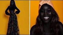 Modelo sudanesa está chamando atenção da internet por seu tom de pele fascinante