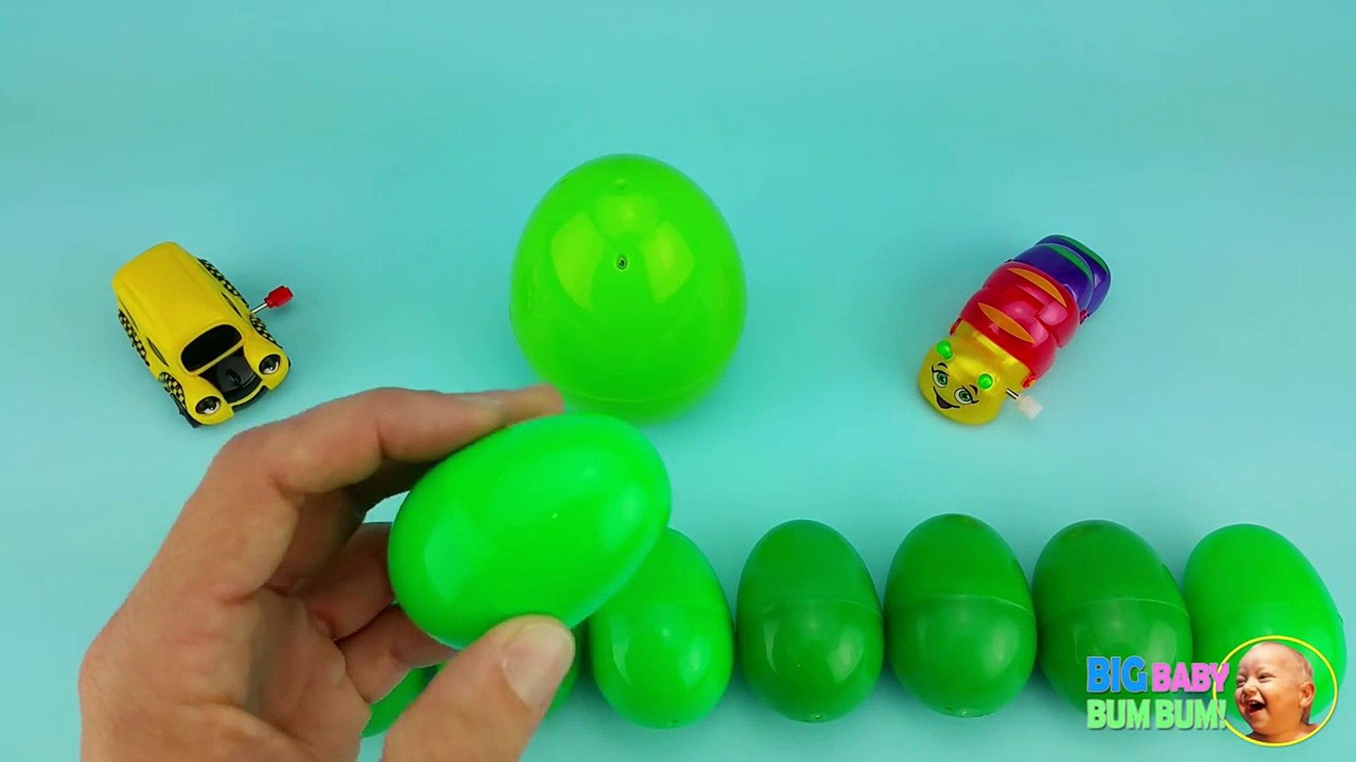 и в  в и к  легковые автомобили дисней яйцо Узнайте Урок Написание сюрприз овощи слово 19