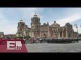 Javier Oliva y la seguridad en la Catedral por visita del Papa Francisco / Ricardo Salas