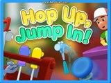 Completa para juego práctico salto en en salto Niños hasta manny  