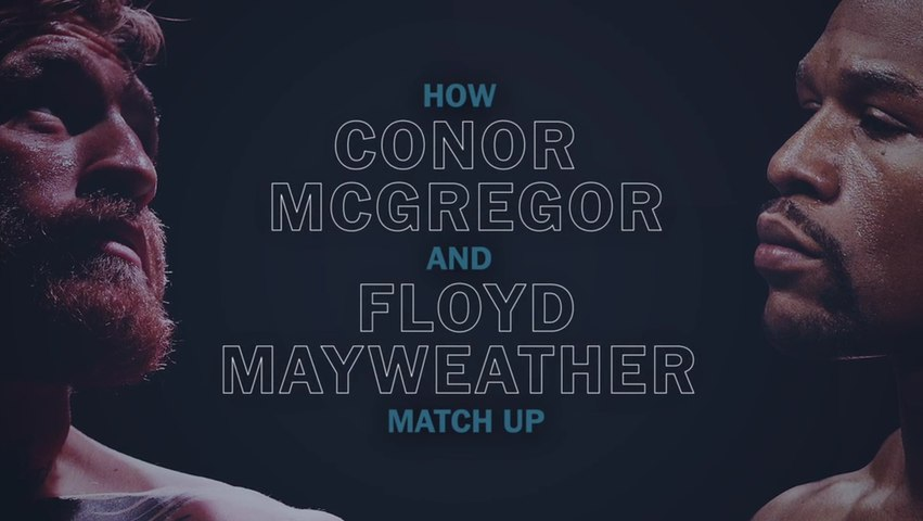 How Conor McGregor and Floyd Mayweather match up