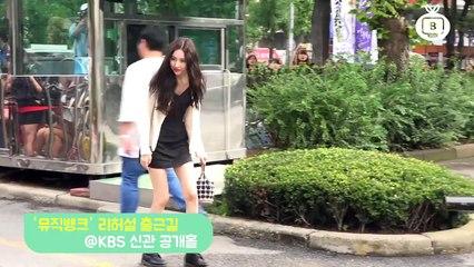 [Z영상] 선미, 예쁜 미모를 뽐내고 가시나~(뮤뱅 출근길)