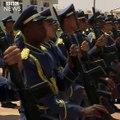 """La fanfare de l'armée libyenne massacre """"God Save the Queen"""""""