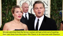 Kate Winslet & Leonardo DiCaprio Still Quote Titanic Lines | News Flash | Entertainment Weekly