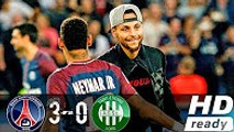 Paris Saint Germain vs Saint-Etienne 3-0 | All Goal & Highlights | LIGUE 1 26.08.2017