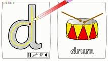 Et dessin animé pour garderie rimes chanson chansons deux avec mots Phonics animation phonics childre