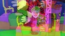 Et homme chauve-souris des bandes dessinées jouets déballage vidéo Imaginext joker laff fory dc imaginext