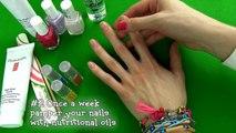 Et beau soins en bonne santé Comment longue manucure mon ongle ongles fort conseils à Il Routine 16