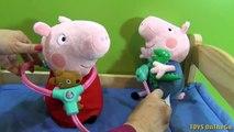 Cas médical infirmière porc jouer et Dr Peppa porte-documents doh dinfirmière infirmière playdough