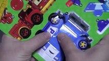 Montar juguetes juguete Robo de coches toma de poli Robocar poli poli