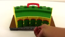 Thomas & Friends Take N Play Tidmouth Sheds Playset, Train Maker and Wooden Railway Trains