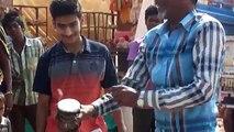 Noir grande dans inde Indien la magie Magie Voir létablissement rue Bengale magiciens noirs