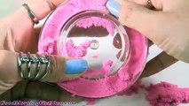 Mignonne cinétique rose le sable faire piscine de sable pour la dynamique extrême rose anna princesse els kineti