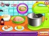 Cuisine des jeux Jeux de cuisine Les filles avec un cuisinier et un gâteau beau jeux daction pour les enfants