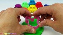 Des voitures enfants les couleurs des œufs enfants Apprendre jouer course course enseigner jouet jouets Doh surprise eggvideos disne