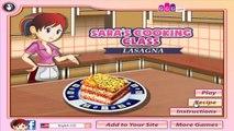 Canal enfants classe cuisine pour des jeux enfants Lasagne jouer Sara à Il votre
