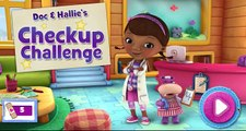 Doc McStuffins Disney Game Movies Doc and Hallies Check Up Challenge Fun Gameplay