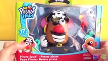 """Mr. and Mrs. Potato Head Beach Spudette and Pirate Spud in, """"Summer Beach Fun"""", Toy Video"""