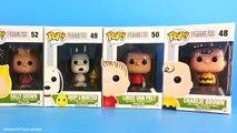 POP Peanuts Charlie Brown Snoopy & Woodstock Lucy Linus Sally Brown