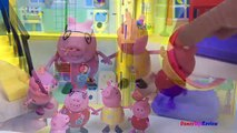 Пеппа свинья Семья кинетический песок пресс-формы с Пеппа джордж Мумия свинья и Папа свинья