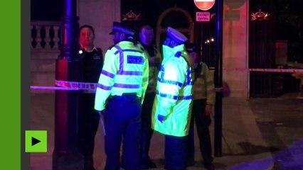 Royaume-Uni : deux policiers blessés après une attaque au couteau devant Buckingham Palace