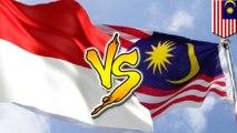 Malaysia VS Indonesia: netizen Malaysia balas Indonesia dengan #shameonyouindon - TomoNews