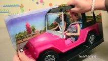 Et campeur poupées dans vie Nouveau le le le le la déballage vers le haut en haut Barbie pop tour barbie dreamhouse