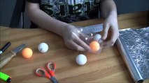 How to Make a Smoke Bomb Out of a Ping Pong Ball new!