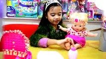 Bébé vivant poupée amusement avec bébé vivant jouet chasse avec bébé vivant bébé vivant
