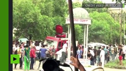 Après la condamnation pour viol d'un gourou en Inde, la foule se rebelle contre les autorités