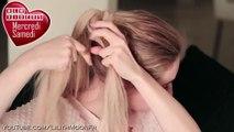 Chignon désordonné chignon tressé ★ tuto coiffure rapide/facile à faire cheveux longs
