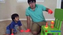 Un et un à un un à bulles la famille amusement amusement Jongler enfants la magie Magie ne dans aucun sur vu jouets la télé pop ryan toysreview