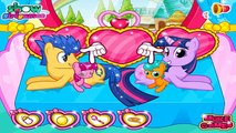 ♥♥♥Twilight Sparkle Pregnant Gave Birth to Twins. My Little Pony Baby Birth Games for Chil