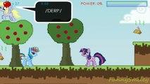 Manzana recoge tablero arco iris Mi Pequeño Pony rociada del arco iris en la MLP rusos recoge las manzanas