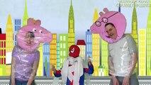 Свинка Пепа и Человек Паук делают Мумия Челлендж / Мультик для Детей / ЧЕЛЕНДЖ КАНАЛ