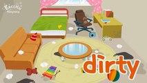 Enfants vocabulaire contraire mots Apprendre opposés Anglais pour enfants Anglais éducatif vidéo