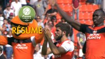 FC Lorient - Stade de Reims (2-1)  - Résumé - (FCL-REIMS) / 2017-18