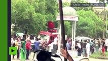 [Actualité] Après la condamnation pour viol d'un gourou en Inde, la foule se rebelle contre les autorités