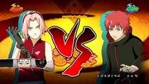 Naruto Ultimate Ninja Storm 2 MOD - Sasuke & Sakura vs Kakashi Boss Battle Charer Swap