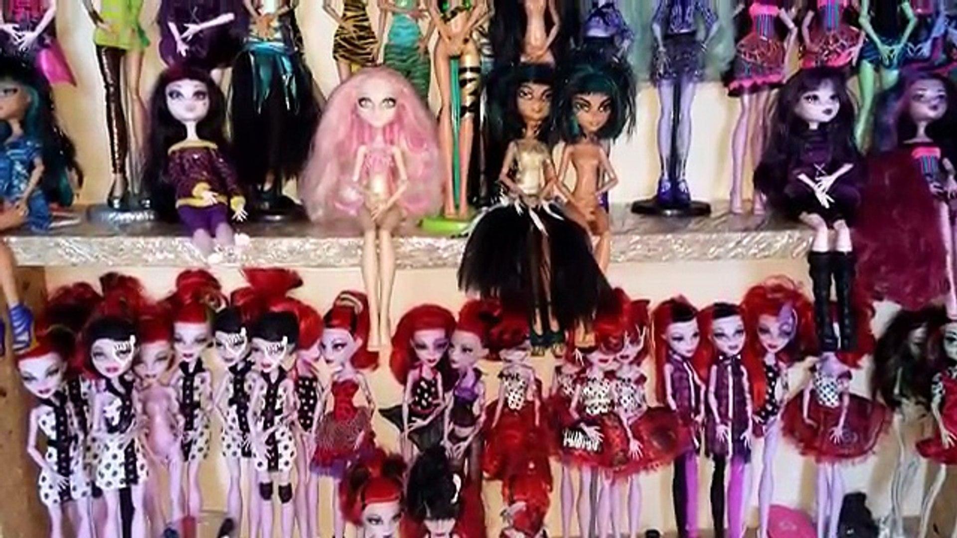 Para y la vida piratería Barbie muñecas Monster High red piratería 5 vida con bandas elásticas
